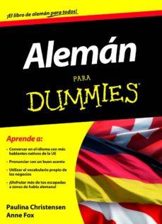 Inciertagloria.es Aleman Para Dummies (Pack) Image