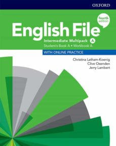 Descargas gratuitas de libros electrónicos sin registro ENGLISH FILE INT (MULTIPACK) STUDENT BOOK/WORKBOOK A 4ED in Spanish de