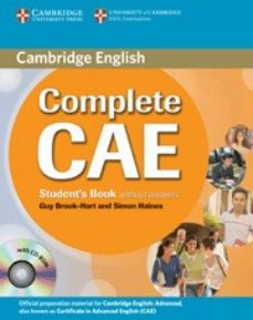 Descargar COMPLETE CAE: STUDENT S BOOK WITHOUT ANSWERS + CD-ROM gratis pdf - leer online