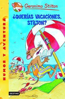 Descargar GS 19 :Â¿QUERIAS VACACIONES, STILTON? gratis pdf - leer online