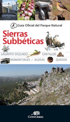 guia of. parque nat. sierra subbeticas (3 ª ed.)-9788415338529