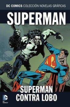coleccion novelas graficas nº 80: lobo contra superman-9788417480929