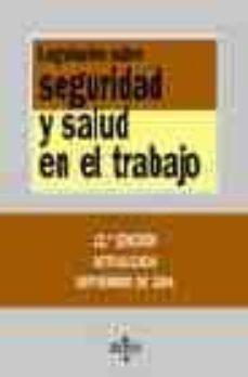 Inmaswan.es Legislacion Sobre Seguridad Y Salud En El Trabajo (12ª Ed.) Image