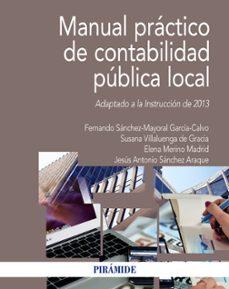 manual practico de contabilidad publica local (adaptado a la instruccion de 2013)-9788436836929