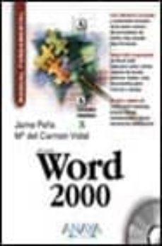 Geekmag.es Word 2000 (Manuales Fundamentales) (Incluye Cd-rom) Image
