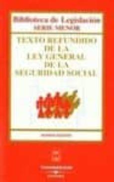 Relaismarechiaro.it Texto Refundido De La Ley General De La Seguridad Social (9ª Ed.) Image