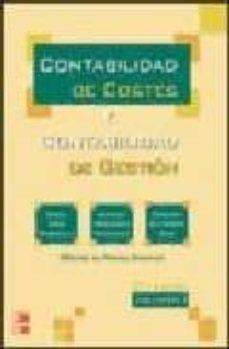 Lofficielhommes.es Contabilidad De Costes Y Contabilidad De Gestion (Vol. I) Image