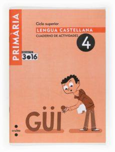 Asdmolveno.it Lengua Castellana Cuaderno De Actividades 4 Projecte 3.16 6º Primaria Image