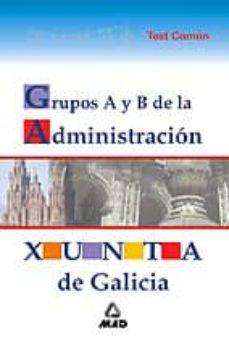 Carreracentenariometro.es Administracion De La Xunta De Galicia (Grupos A Y B): Test Comun Image
