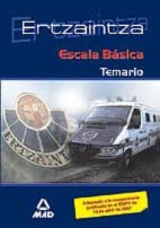 Concursopiedraspreciosas.es Ertzaintza Escala Basica: Temario Image