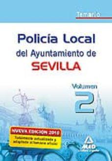 Titantitan.mx Policia Local Del Ayuntamiento De Sevilla. Temario Vol.ii Image