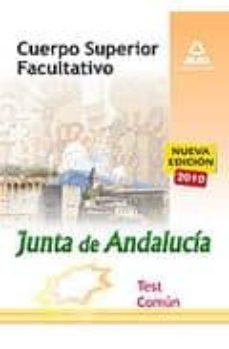Emprende2020.es Cuerpo Superior Facultativo De La Junta De Andalucia. Test Comun Image
