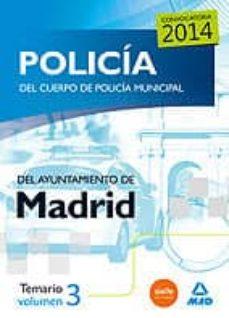 Trailab.it Policia Del Cuerpo De Policia Municipal Del Ayuntamiento De Madrid: Temario (Vol. 3) Image