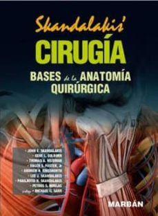 Descarga gratuita de e book computer CIRUGIA: MANUAL: BASES DE LA ANATOMIA QUIRURGICA PDF de SKANDALAKIS 9788471019929 (Literatura española)