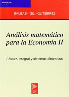 Ironbikepuglia.it Analisis Matematico Para La Economia Ii Image