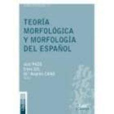 Cdaea.es Teoria Morfologica Y Morfologia Del Español Image