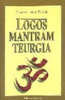 logos mantram teurgia-samael aun weor-9788488625229