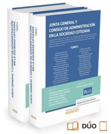 junta general y consejo de administración en la sociedad cotizada-antonio roncero sanchez-9788490995129