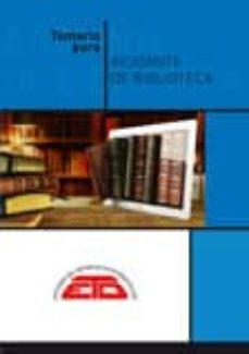 Valentifaineros20015.es Temario Para Ayudante De Biblioteca: Biblioteconomía, Historia Del Libro Y De Las Bibliotecas, Bibliografía Y Documentación Image