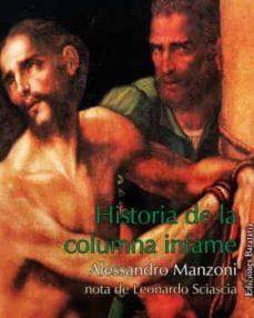 historia de la columna infame-alessandro manzoni-9788495764829