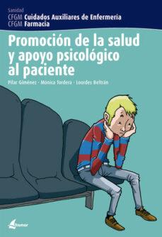 promocion de la salud y apoyo psicologico al paciente-m. gimenez perez-monica tordera aleman-lurdes beltran pinies-9788496334229