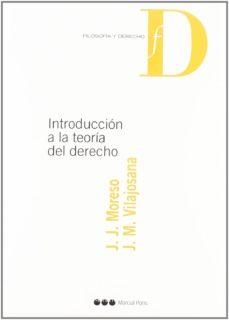 Descargar INTRODUCCION A LA TEORIA DEL DERECHO gratis pdf - leer online