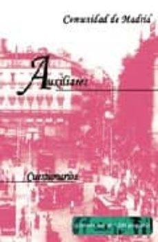 Permacultivo.es Auxiliares De La Comunidad De Madrid: Cuestionarios Image