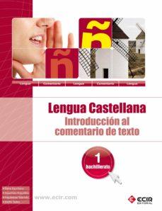 Relaismarechiaro.it Introduccion Comentario Texto Lengua Española 1º Bachillerato Image