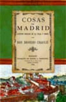 Lofficielhommes.es Cosas De Madrid: Apuntes Sociales De La Villa Y Corte Ed.facs.de La Ed. De Madrid 1884 Image