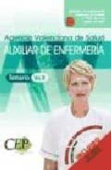 Padella.mx Oposiciones Auxiliar De Enfermeria Agencia Valenciana De Salud. P Arte Especifica Image