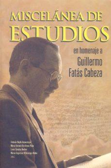 Inciertagloria.es Miscelánea De Estudios En Homenaje A Guillermo Fatás Cabeza Image