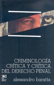 Bressoamisuradi.it Criminologia Critica Y Critica Del Derecho Penal Image