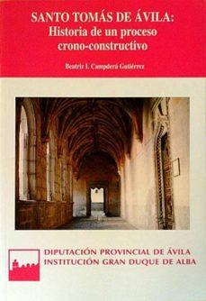 Permacultivo.es Santo Tomás De ÁVila: Historia De Un Proceso Crono-constructivo Image
