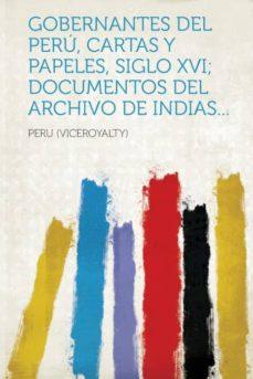 Curiouscongress.es Gobernantes Del Peru, Cartas Y Papeles, Siglo Xvi; Documentos Del Archivo De Indias... Image