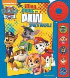 patrulla canina, libro con timbre  6 botones-9781503734739