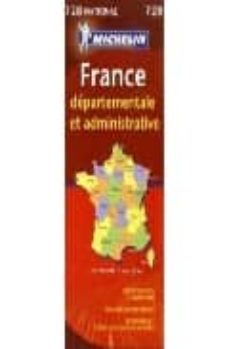 Carreracentenariometro.es Francia Administrativa (Mapas Michelin, Ref. 728) Image