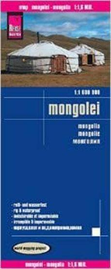 mongolia 1:1.600.000 impermeable-9783831773039