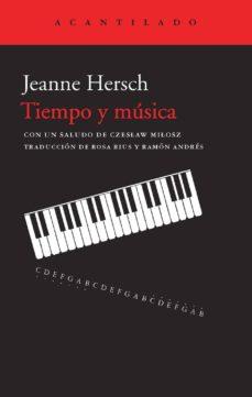 tiempo y musica-jeanne hersch-9788415689539