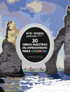 Upgrade6a.es Arte-terapia 30 Obras Maestras Del Impresionismo Para Colorear Image