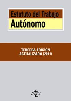 estatuto del trabajo autonomo (3ª ed.)-jesus (ed.) cruz villalon-9788430953639