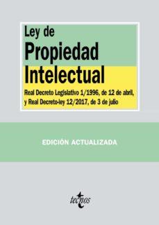 ley de propiedad intelectual (2ª ed.): real decreto legislativo 1/1996, de 12 abril, y ley 21/2014, de 4 de noviembre-9788430973439