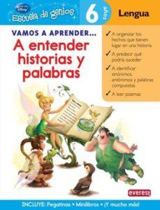 vamos a aprender a entender historias y palabras (escuela de geni os)-9788444146539