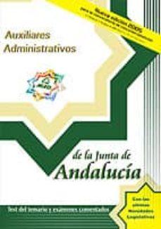 Geekmag.es Auxiliares Administrativos De La Junta De Andalucia: Test Del Tem Ario Y Examenes Comentados Image