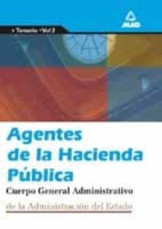 Bressoamisuradi.it Agentes De La Hacienda Publica. Temario (Vol. Ii) Image