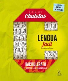 Descargar LENGUA FACIL PARA BACHILLERATO gratis pdf - leer online