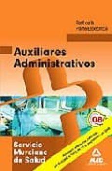 Canapacampana.it Auxiliares Administrativos Del Servicio Murciano De Salud. Test D E La Parte Especifica Image