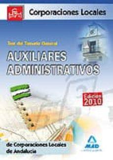 Followusmedia.es Test General De Auxiliares Administrativos De Corporaciones Local Es De Andalucia Image