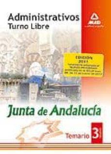 Permacultivo.es Administrativos De La Junta De Andalucia. Turno Libre. Temario. V Olumen Iii Image
