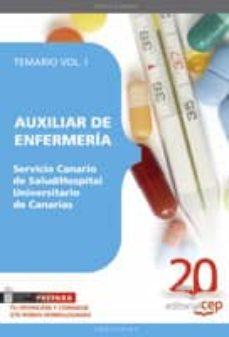 Iguanabus.es Auxiliar De Enfermeria Servicio Canario De Salud./hospital Univer Sitario De Canarias Temario Vol. I. Image