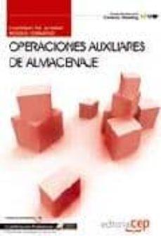 Premioinnovacionsanitaria.es Cuaderno Del Alumno Operaciones Auxiliares De Almacenaje . Cualif Icacion Profesional Image